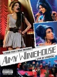 """amy winhouse  Dvd """"i told you i was trouble"""" live in london 51xschi3pzlss500xe1"""