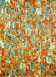 jasper johns paintings