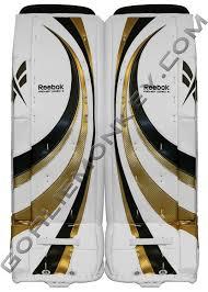 new reebok goalie pads