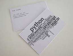 cool business cards design
