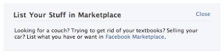 Facebook Announcement