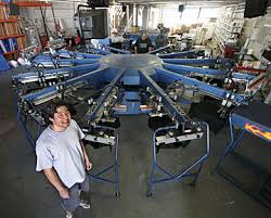silkscreening machine
