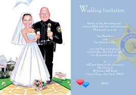 humorous wedding invitation
