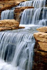 garden waterfall designs