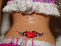 tramp stamp tattoo pictures