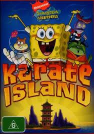 karate island spongebob