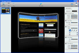 3D Image Commander 1.10 Portable version, image tools