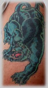 black panther tattoo pics