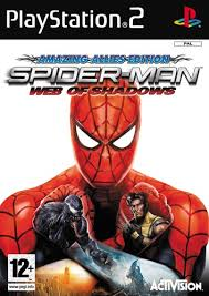 spiderman web of shadows playstation 2