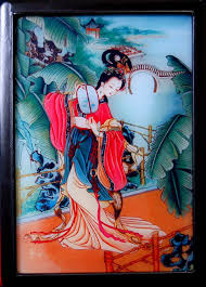 images of glass painting