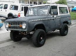 1972 bronco for sale