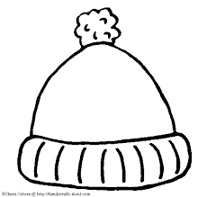 hat coloring pictures