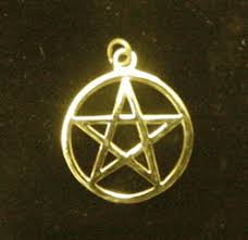 gold pentacle