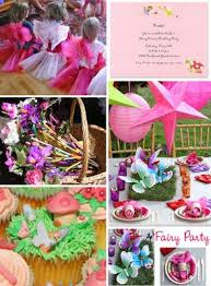 fairy birthday theme