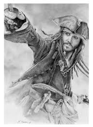 jack sparrow drawing