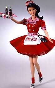 coke cola barbie