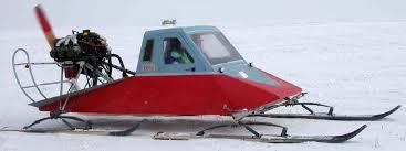 enclosed snowmobile