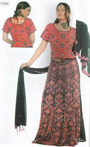 indian ghagra choli