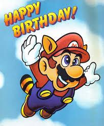 mario birthday cards