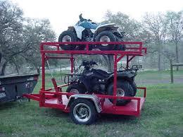 4 wheeler trailer