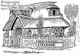 cottage in the holiday