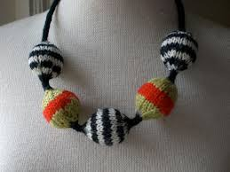knitted bead
