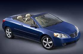 g6 pontiac convertible