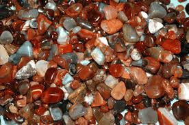 polished agates