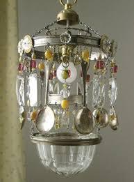 making chandelier