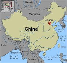 beijing map china