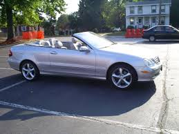 mercedes benz clk 350 convertible