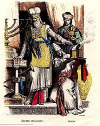 Gebote - רמ´ח  MIZWOT - Gebote - 172 bis 184 Oberpriester-leviten