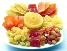 dehydrated fruits