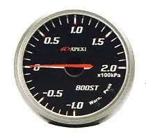 apexi boost gauges