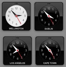 dash board clock