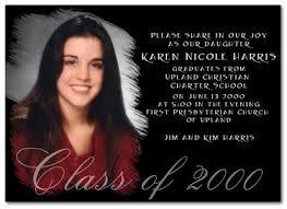 formal graduation invitation