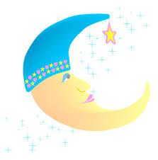 clipart moons