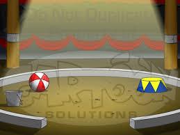 cartoon circus tents