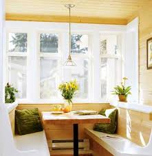 small breakfast nook