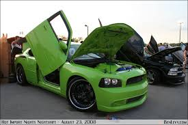 dodge charger green
