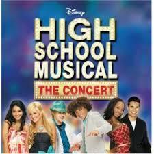 high school musical the concert cd