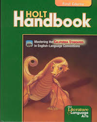 language arts textbooks