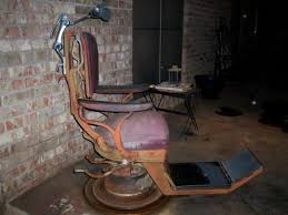 antique dentist chair