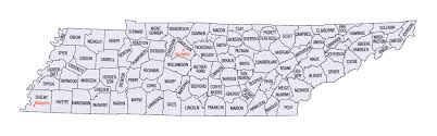 map of tennessee counties
