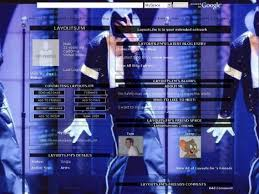 michael jackson myspace layouts