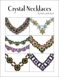 crystal necklace patterns