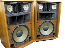 old stereo speakers