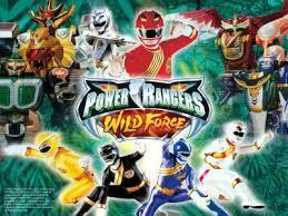 power rangers wild force dvd