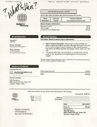 bill invoices