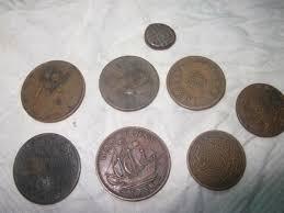 antique indian coins